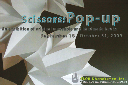 Scissors: Pop-up Postcard